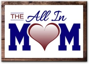 The All in Mom Logo